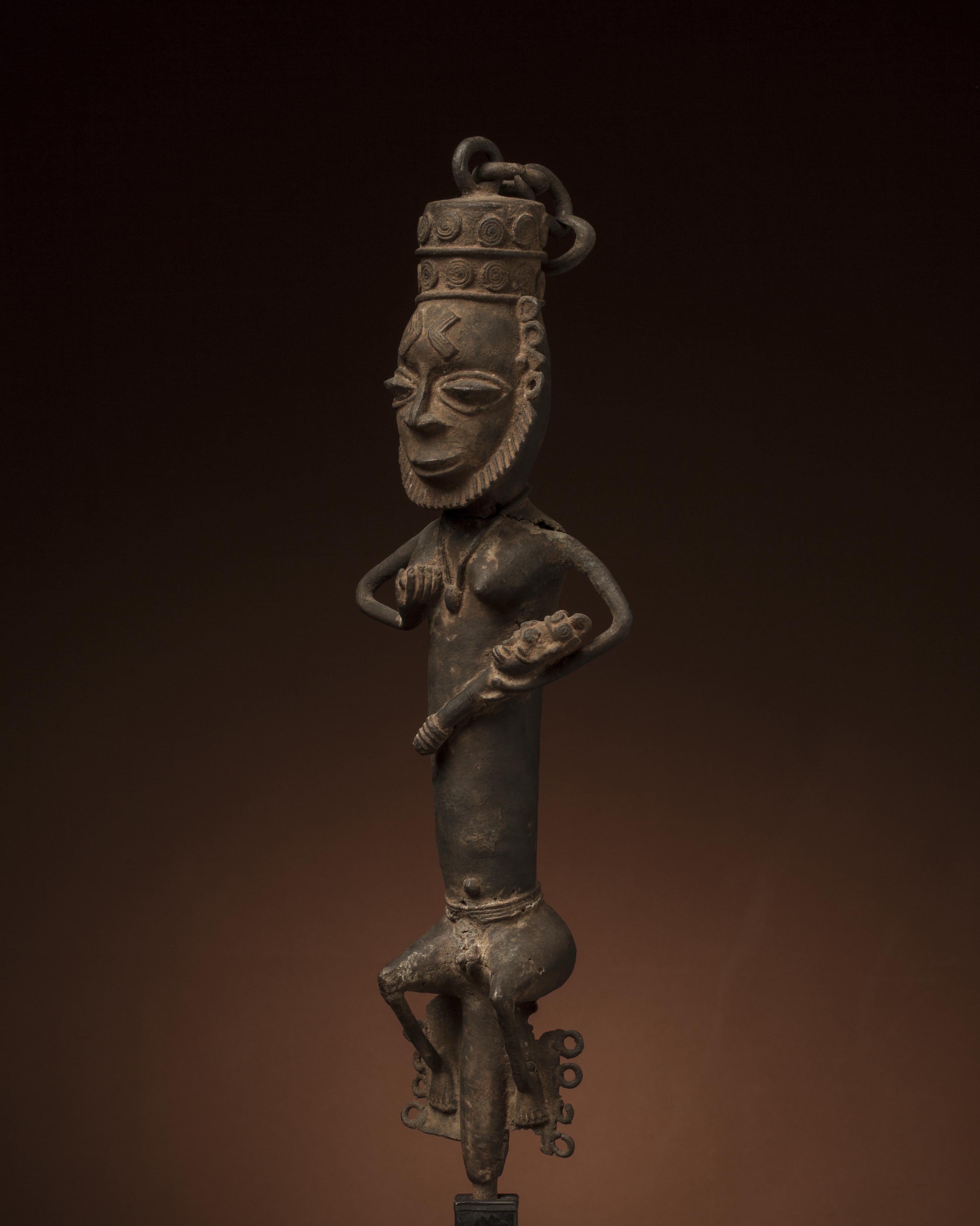 statue africaine nigeria